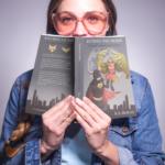 Woman Reading Ratman and Robin