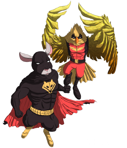 Ratman and robin
