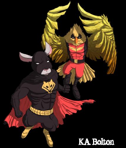 Ratman and robin